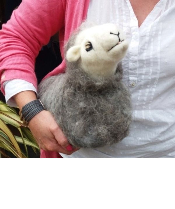 Needle Felt Herdwicks Workshop in Cumbria