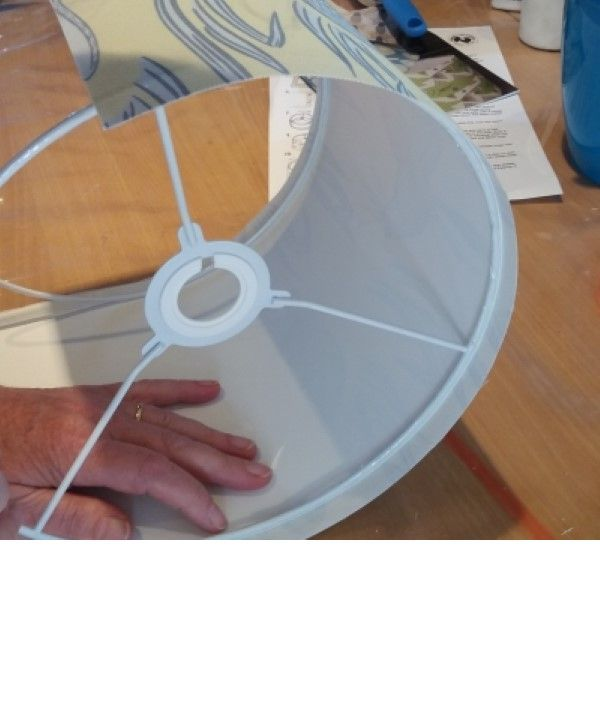Make a hand rolled Lampshade Workshop in Cumbria