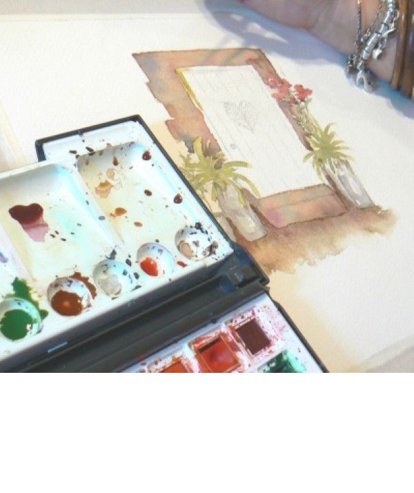 Discovering Watercolours Workshop in Cumbria
