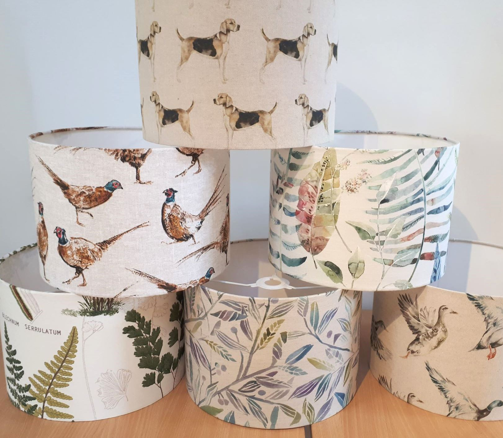 Lampshade Making Workshop in Cumbria