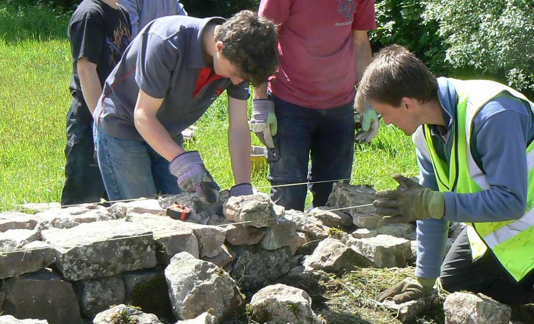 Dry Stone Walling Workshop in Cumbria