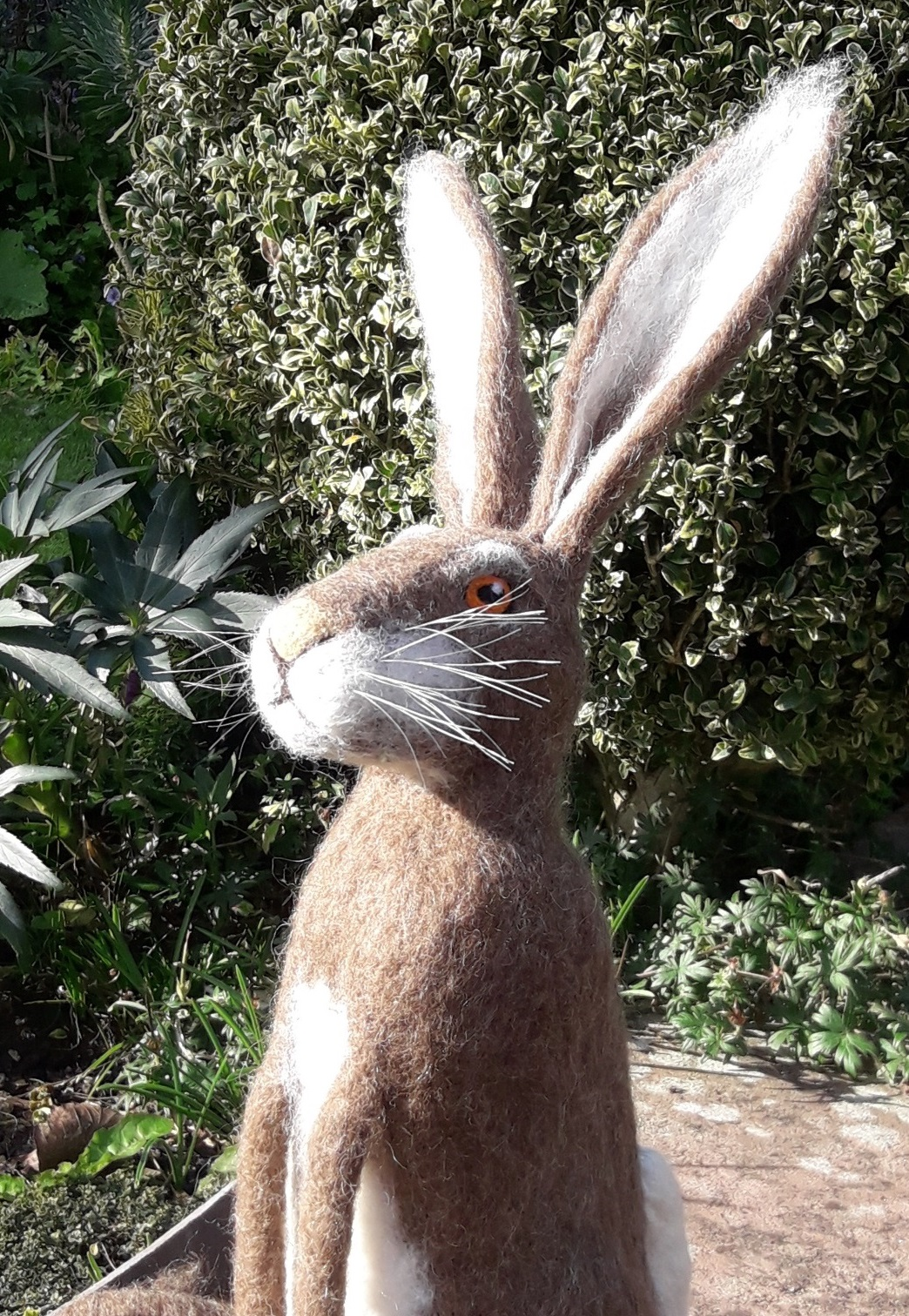 Needle Felt Hare Workshop with Annis McGowan in Cumbria