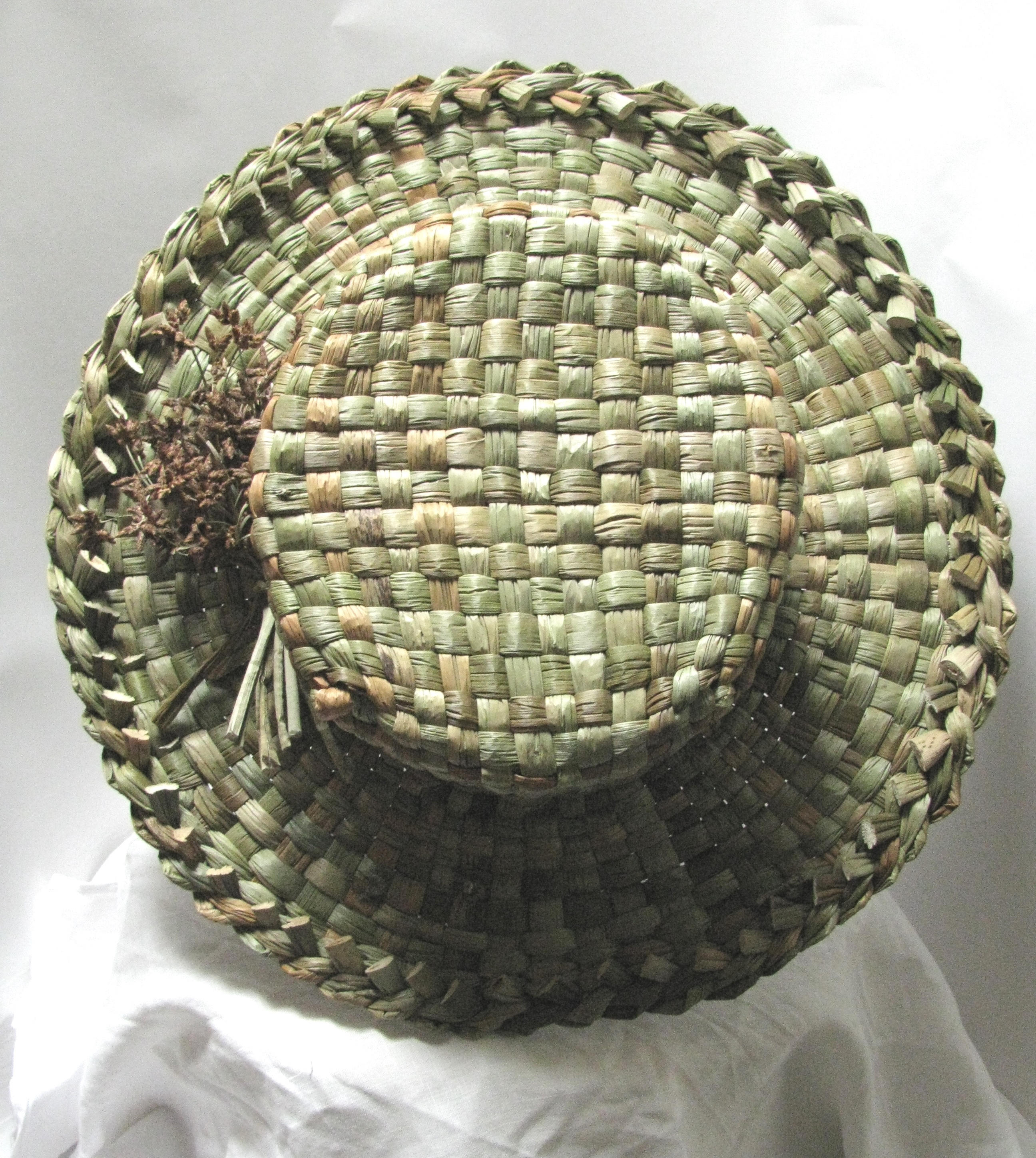 Soft Basketry Rush Workshop in Cumbria