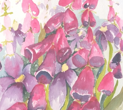 Advanced Watercolours Workshop in Cumbria