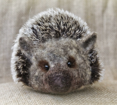 Needle Felt Hedgehog Workshop in Cumbria