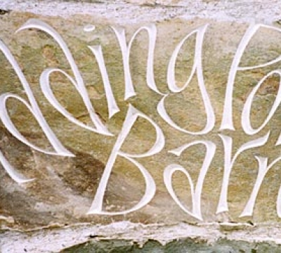 Stone Letter Carving Workshop in Cumbria