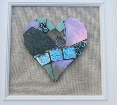 Mosaic Workshop: 'two hearts are better than one'