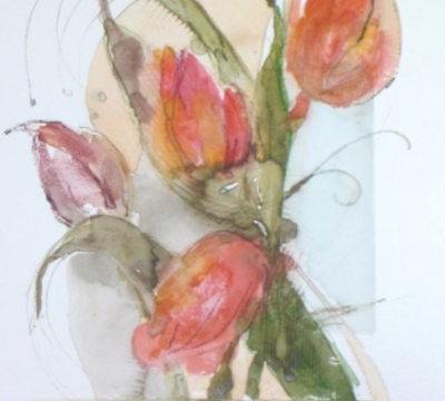 Loose Botanical Watercolours with Lyn Evans
