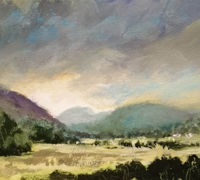 'Breaking the rules of Painting' ~ Landscapes with Roy Simmons