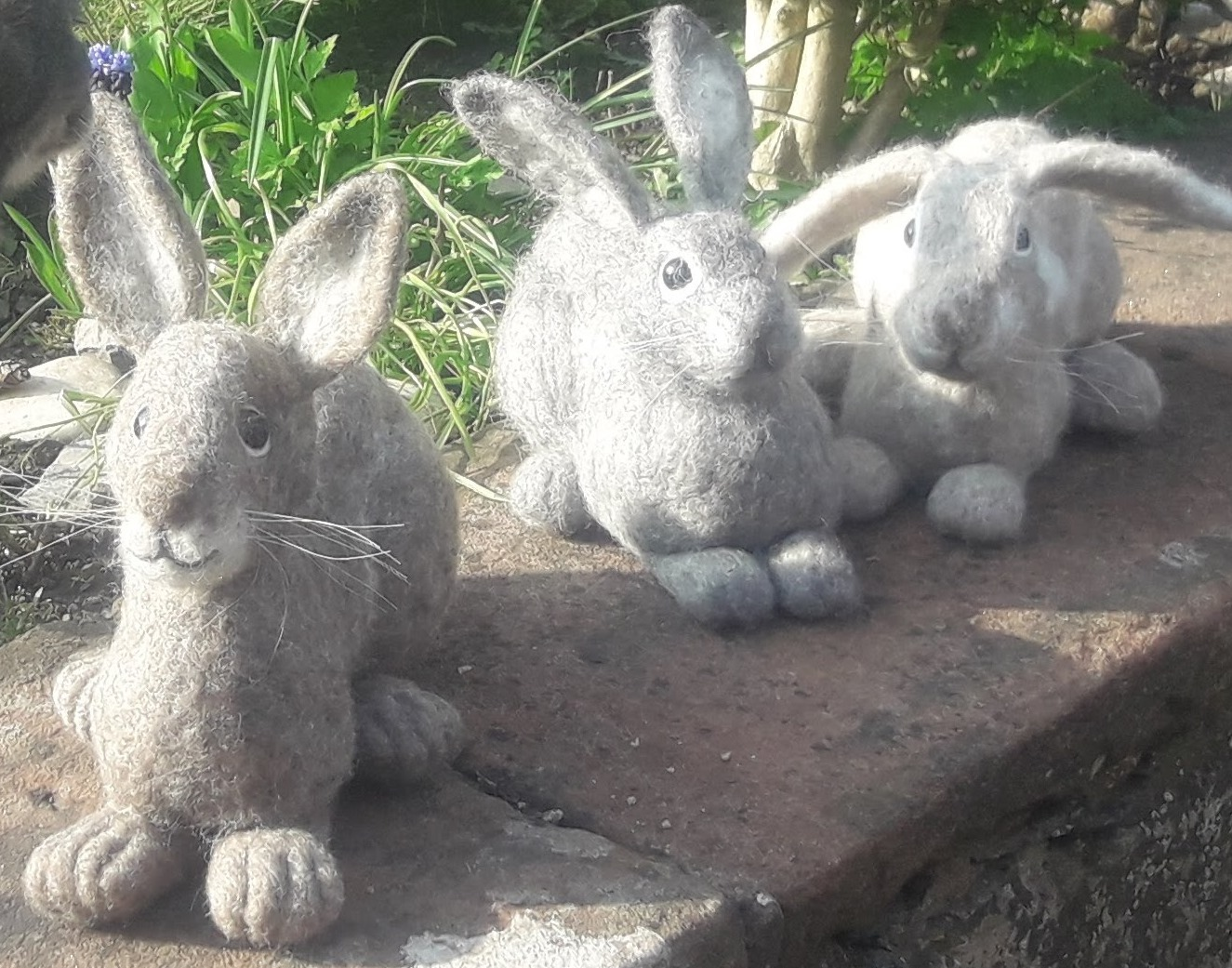 Needle Felt Bunny Workshop in Cumbria