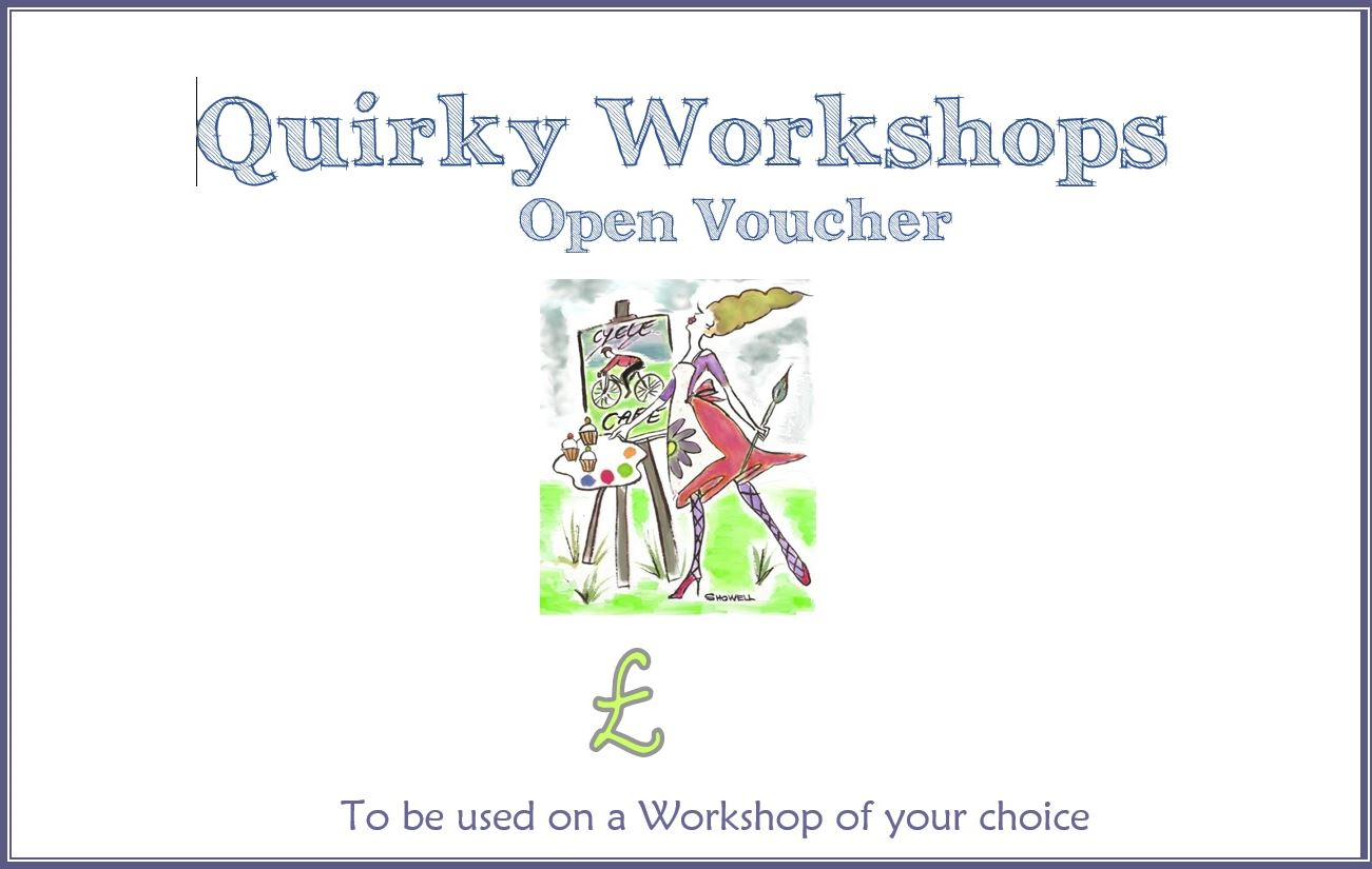 Quirky Workshop Voucher