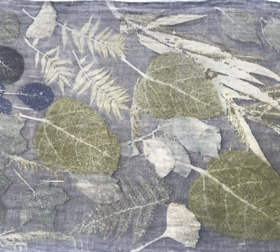 Botanical Printing on Textiles & Paper with Deborah Dawn