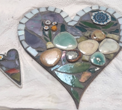 Mosaics ...'two hearts are better than one'