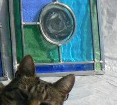 Make a Stained Glass Mirror with Jackie Hunt - 1 day