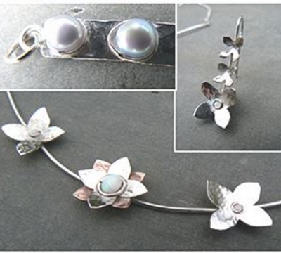 Sterling Silver Jewellery 2 days with Melinda Scarbrough (£40 deposit)