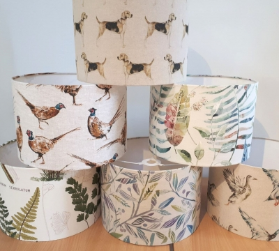 Lampshade Making short course with Sonja Tilleard