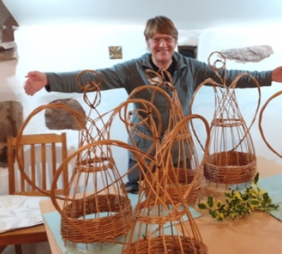 Willow Weaving ~ Angels with Phil Bradley