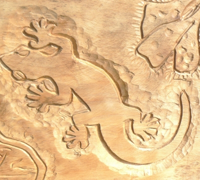 Relief Carving in Hardwood with Alister Neville